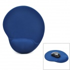 Ergonomic Anti-slip Silicone Mouse Pad w/ Wrist Rest Support - Aquamarine