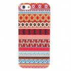 Retro Style Pattern Plastic Back Case for Iphone 5 - Multicolored