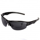 CARSHIRO Cycling Riding UV400 Protection Polarized Resin Sunglasses for Men - Black