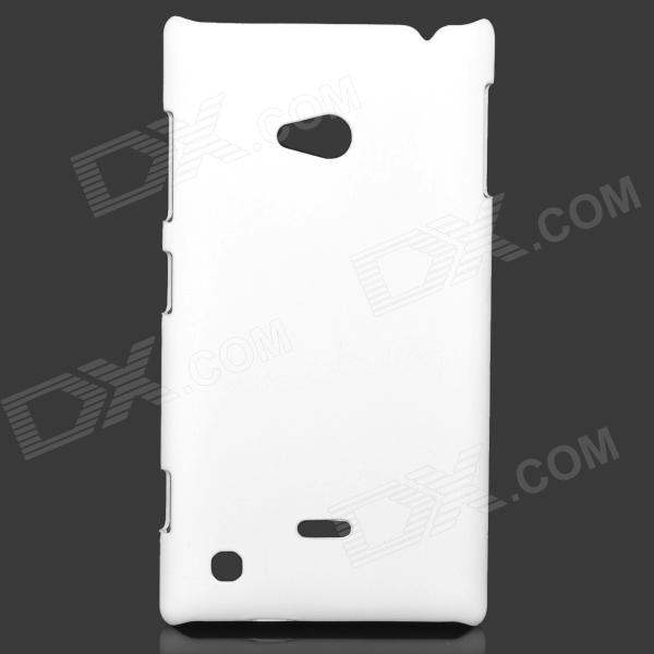 Protective Plastic Hard Case for Nokia Lumia 720 - White