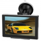 "BT-504 5.0"" Resistive Screen WinCE 6.0 Car GPS Navigator w/ European Map / 4GB TF - Black"