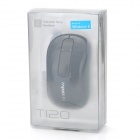 RAPOO T120P 5GHz Wireless 1000DPI Mouse w/ Touch Scroll Wheel - Black (2 x AA)