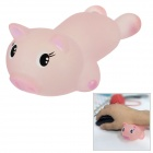Cute Cartoon Pig Style Comfortable Soft Silicone Mouse Wrist Support Pad - Pink