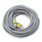 High Speed USB 2.0 A Male to B Male Printer Connection Cable - Grey (5M)