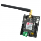 Manolins SIM 900 GSM/GPRS Shield Expansion Board Wireless Module w/ Antenna for Arduino - Black