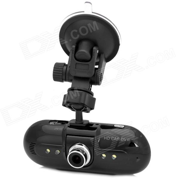 L5000 2.7'' LCD 120 Degree Lens 1080P Car DVR Video Recorder w/ 4 LED Night Vision G Sensor - Black
