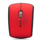 WM-R Folding 2.4GHz 1000 / 1200 / 1600dpi Wireless Optical Mouse - Red + Black (2 x AAA)