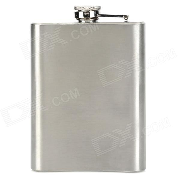 HONEST 80Z-67TS Outdoor Portable Stainless Steel Liquor Flask Set - Silver (8oz)  недорого