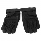 Outdoor Sports Full-fingers Skiing Cycling Gloves - Black (Size L / Pair)