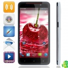 "Tianhe H920 MT6589 Quad-Core Android 4.2.1 WCDMA Phone w/ 5.0"" HD, Wi-Fi, GPS - Black + Light Blue"