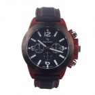 Super Speed V6 V0087-B  Men's Stylish Quartz Wrist Watch - Black + While + Red (1 x LR626)