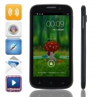 "MIZ Z1 MTK6589 Quad-Core Android 4.2.1 WCDMA Bar Phone w/ 4.5"" QHD, Wi-Fi, GPS and Dual-SIM - Black"