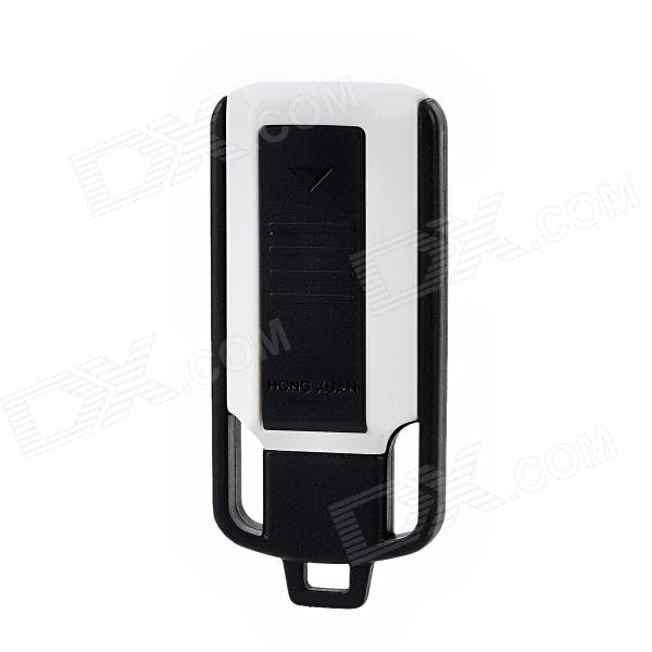 8700 USB Rechargeable Electronic Cigarette Lighter - Black + White