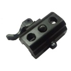 Quick Release Connector for 20mm Gun Rail - Black + Brown