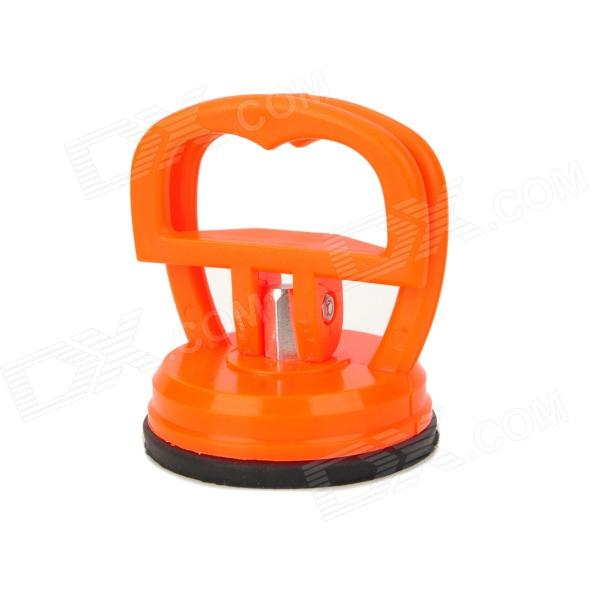 57mm Diameter Screen Detacher Repairing Suction Cup w/ Handle - Orange + Black