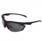CARSHIRO 1205  Cycling  Riding UV400 Protection Polarized Resin Lens for Men - Black