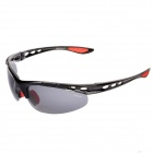 CARSHIROT9358 Outdoor Sport Riding Protection Sunglasses - Red + Black