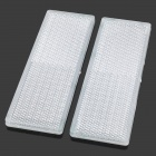 Car Vehicle Safety Warning Reflective Sticker - White (2 PCS)