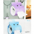 Cute Simple Cartoon Spirit Style Cylinder Paper Towels Holder - Blue + Orange (2 PCS)