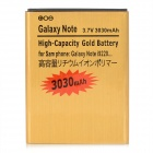 Remplacement 3.7V 3030mAh Li-ion pour Samsung Galaxy Note i9220 - Golden