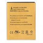 Replacement 3.7V 3030mAh Li-ion Battery for Samsung Galaxy Note i9220 - Golden