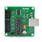 Manolins USBtinyISP USB ISP Programmer Download for Arduino Bootloader AVR - Green + Black