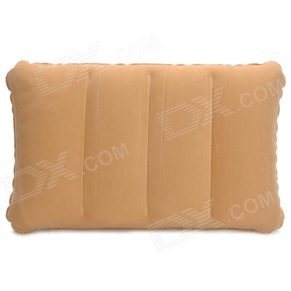Inflatable Flocking Fabric Protective Waist Cushion - Brown от DX.com INT