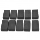 Car Paint Scratching Repair Sandpaper Sole Timber Auxiliary Sponge (10 PCS)