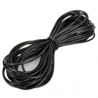 Aquarium Fish Tank Flexible Silicone Air Line Tube - Black (18m)