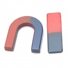 10000G Scientific Magnet Learning Set - Red + Blue (2 PCS)