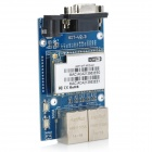 VRM04 Multifunction Uart Serial Port to Ethernet / Wi-Fi Converting Adapter Module w/ Antenna - Blue