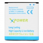 Replacement 3.7V 3000mAh Li-ion Battery for Samsung Galaxy S4 i9500 - White + Blue + Green
