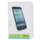 "N5300 MTK6589 Quad-Core Android 4.2.1 WCDMA Bar Phone w/ 5.0"" HD, Wi-Fi and GPS - White"
