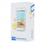 "W100 MTK6589 Quad-Core Android 4.2.1 WCDMA Bar Phone w/ 4.5"" QHD, Wi-Fi and GPS - White"