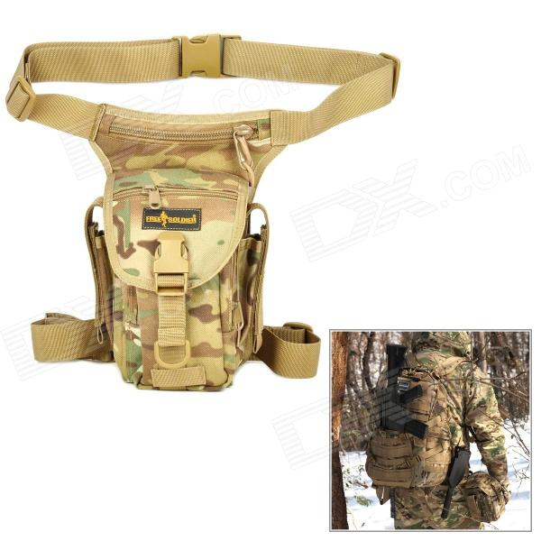 LIVRE SOLDADO YTB216 Multifunction Outdoor Sports Caminhadas Nylon cintura Bag - Cor Camouflage (6L)