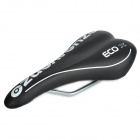 Venzo VZ-E01-010 Replacement PU Leather Covering Road Bicycle Cycling Saddle - Black