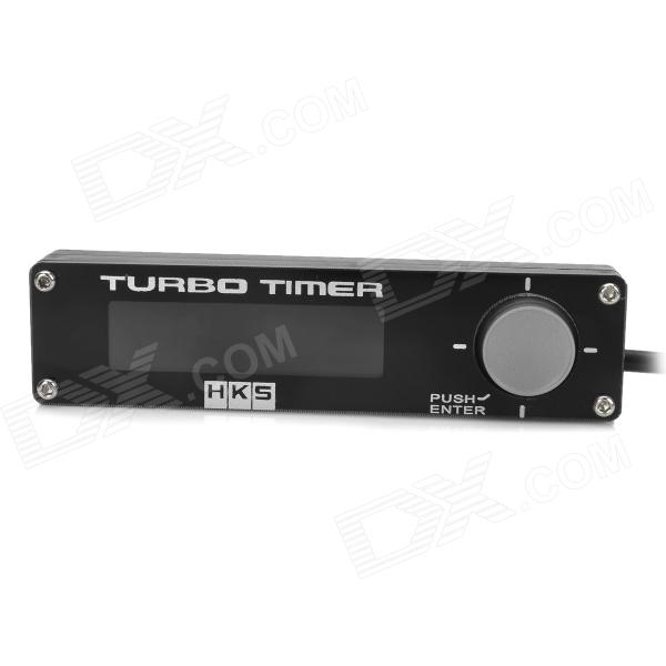 Universal 1.7 Red LED Digital Auto Timer For NA / Turbo - Black (12V)