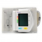 "Jumper JPD-900W 1.85"" LCD Full-Automatic Blood Pressure Meter - Silver Grey"