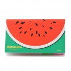 590-1 Watermelon Style Reusable Memo Note Sticky Pad Paper - White + Red + Green