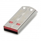 SANDISK Z71 USB 2.0 Flash Drive - Silver + Red (8GB)