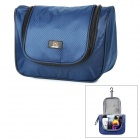 JOYTOUR JT2012 Outdoor Travel Water Resistant Nylon Toiletry Kits Storage Bag - Deep Blue