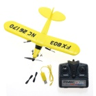 Drop Resistant 27MHz 2-CH R/C Glider w/ Remote Control - Yellow (6 x AA)