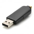 USB 2.0 300Mbps Wireless Network Adaper w / Antena - Negro
