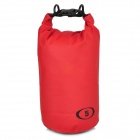 Outdoor Sports PVC Waterproof Bag - Red + Black (5L)