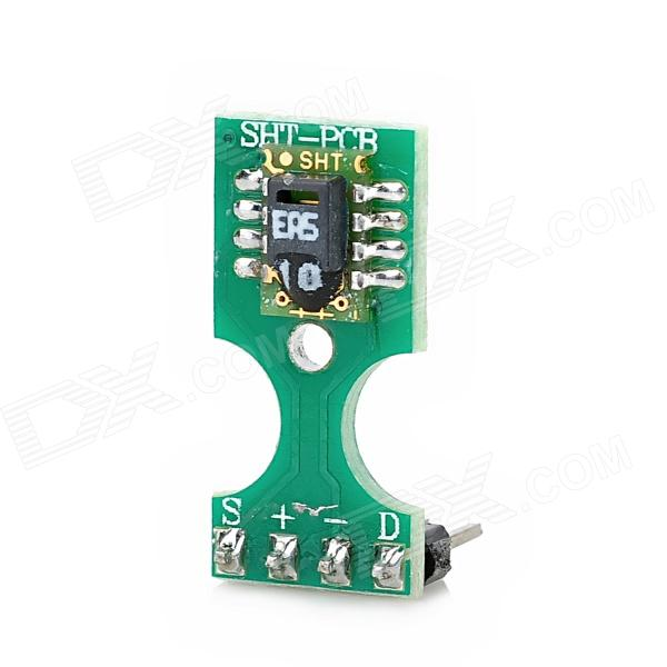 SHT10 Digital Temperature Humidity Sensor Module - Green cs 10 spectral colorimeter highest precision colorimeter color measuring device