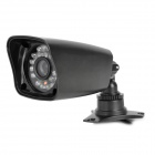 MG5530B IR 600Lines 1/3 CMOS CCTV Video Camera w/ 24-IR LED Night Vision - Black