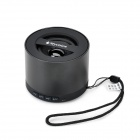 BL-N9 Mini Bluetooth V3.0 Speaker w/ FM / Handsfree / Audio Input / TF - Black