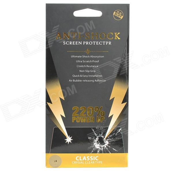 Anti-Shock Limpar Tela Guarda Protector para Iphone 4 / 4S - transparente
