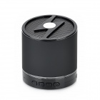 LXBT-01S Portable Mini Wireless Bluetooth V2.1 Speaker w/ Handsfree - Black