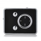 Fashionable 140mAh Li-ion Polymer Mini TF Card  MP3 Player w/ Clip - Black + White (16GB Max.)